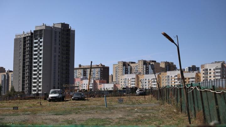 Видное место: парковку в спальном районе Челябинска застроят 25-этажками