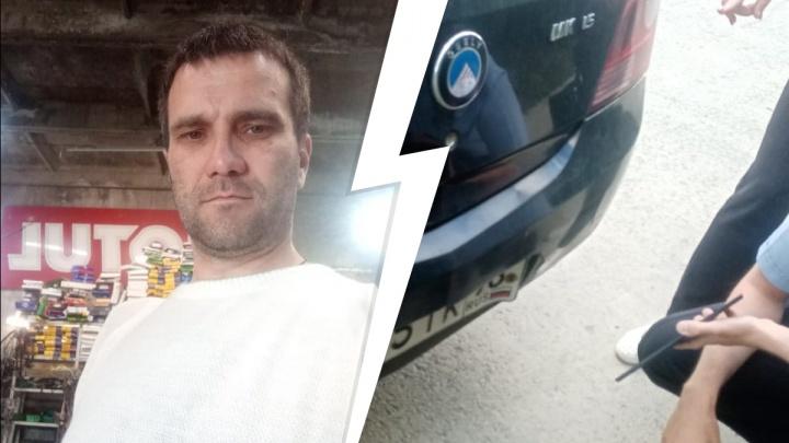 Под Екатеринбургом следователь на Geely «сбила» мужчину, который потребовал от нее ордер на обыск