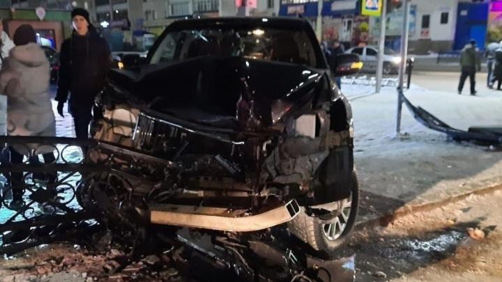 В Башкирии произошло ДТП с участием нетрезвого водителя. Очевидцы узнали в нем гаишника