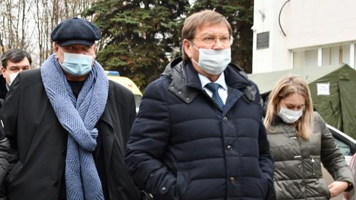 Силовики задержали главу администрации Аксайского района Виталия Борзенко