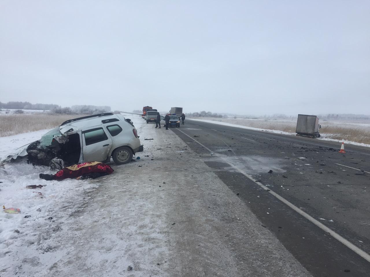 Смертельное ДТП произошлона 1163-м километре федеральной автодороги «Иртыш»