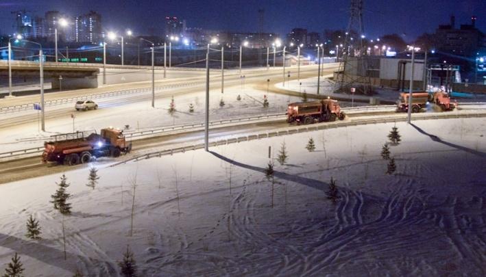 На каких дорогах в Красноярске используют новые химреагенты от производителя «Бионорда» — карта