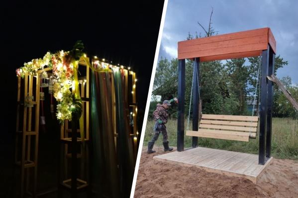 Дизайнерские лавки и светящаяся фотозона — только часть обновок Пежмы