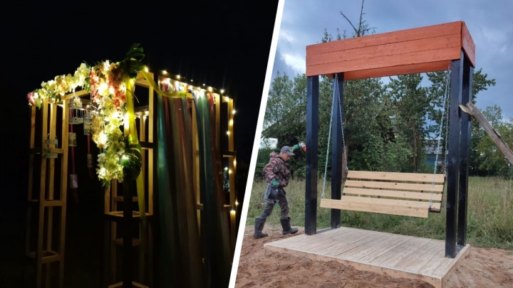 «Наша Пежма превращается в арт-село!»: в Вельском районе молодые жители сами сделали крутые объекты