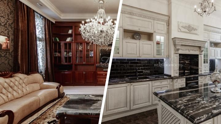 В Новосибирске продают роскошную квартиру в неоклассическом стиле. Смотрим, что есть в жилье за 44 миллиона