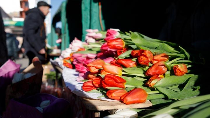 «Мужчины всё делают в последний момент»: волгоградцы штурмуют цветочные магазины в поисках подарков