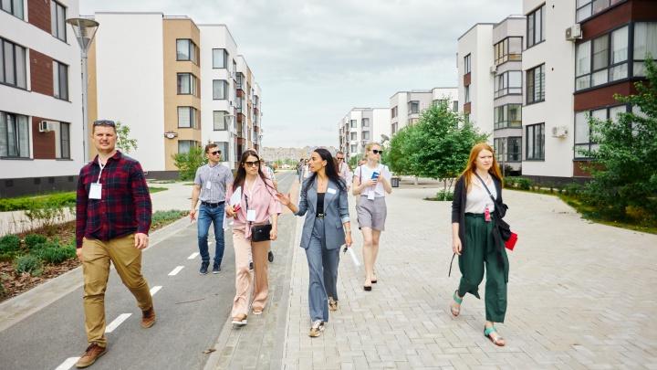 Девелоперы из Санкт-Петербурга побывали с экскурсией на объектах компании «Партнер-Строй»