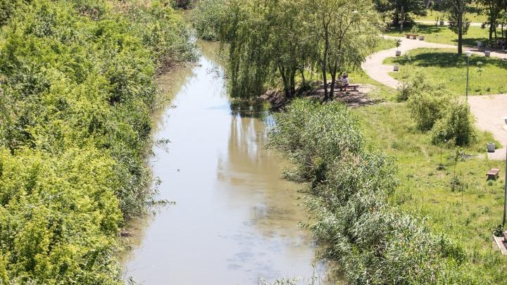 В Минприроды пообещали перекрыть бордовые стоки в реку Темерник
