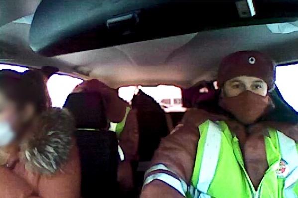 В машине ДПС женщина утверждала, что не употребляла крепких напитков