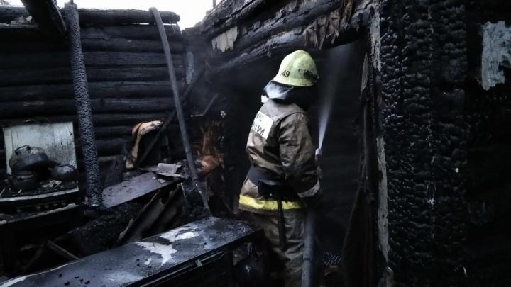 Отец и трехлетняя дочь погибли в пожаре в Башкирии