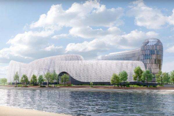 Новый аквапарк на Затоне появится на месте старого заброшенного комплекса
