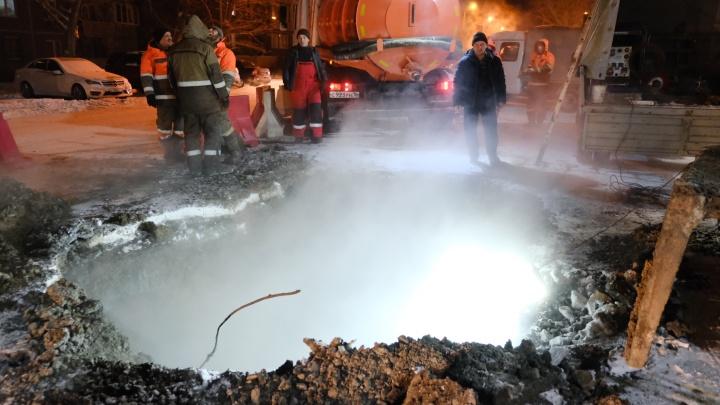 В мэрии Челябинска назвали сроки возвращения тепла в пострадавшие от коммунальной аварии кварталы