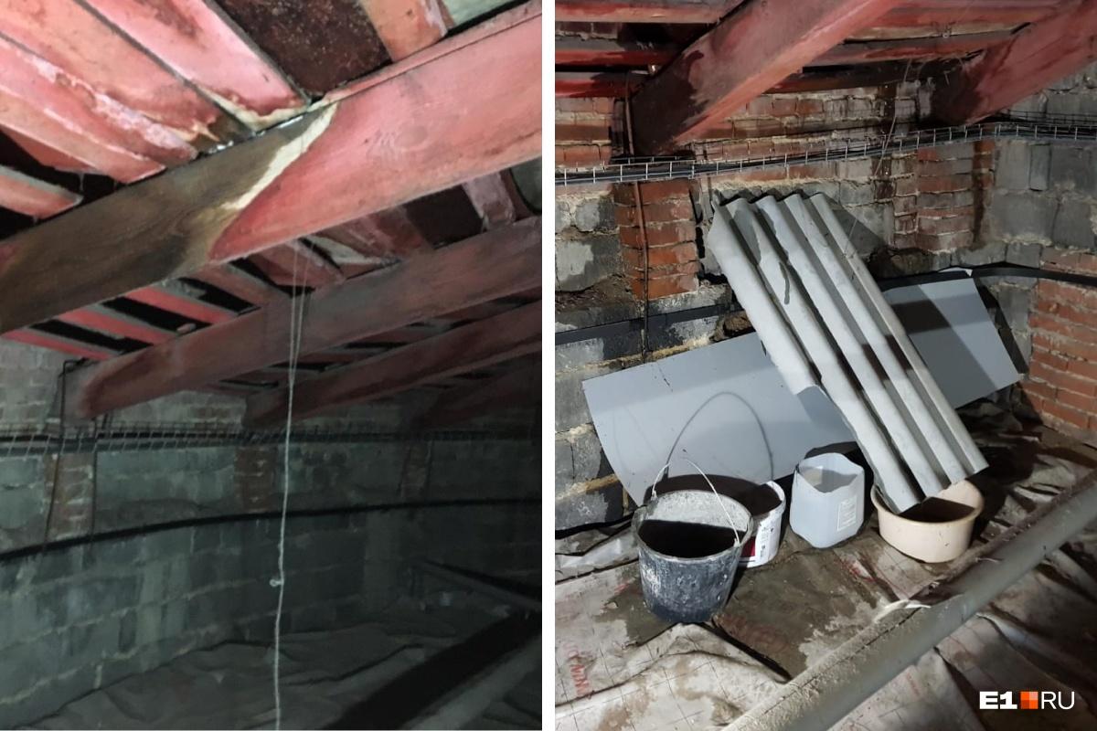По мнению жильцов, водосточная система во время капремонта была выполнена с нарушениями