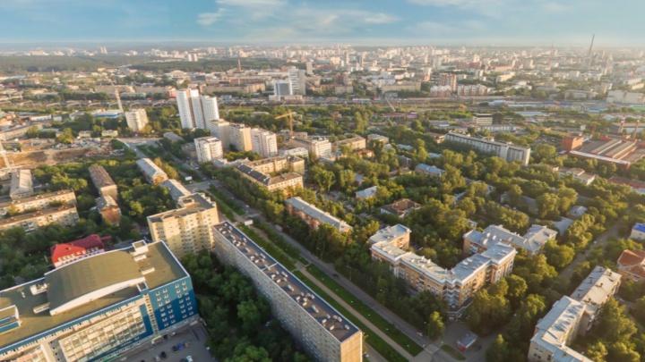 В Екатеринбурге предложили перестроить огромную часть Втузгородка. В планах — новые улицы и ж/д вокзал