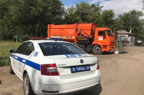 В Магнитогорске авария произошла в Ленинском районе на улице Писарева
