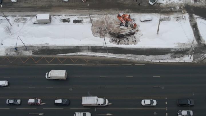 В Самаре началась подготовка к строительству развязки на Ново-Садовой