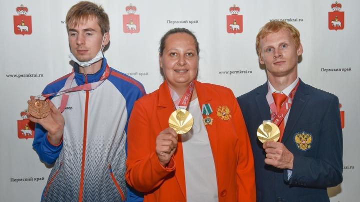 В Пермь вернулись медалисты Паралимпиады в Токио