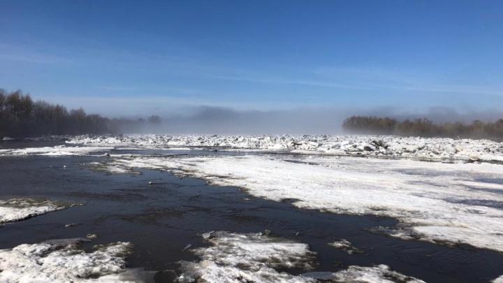 Вблизи одного из сёл Башкирии взорвут ледовый затор. В МЧС предупредили о резком подтоплении домов