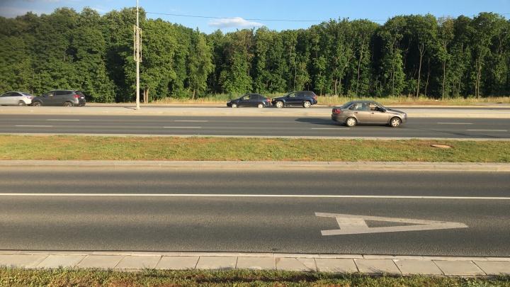 На дорогах Самары выделят полосы для движения общественного транспорта