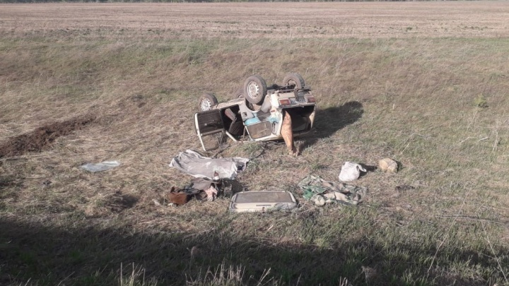 «Опрокинулся в кювет»: 66-летний мужчина погиб в аварии в Новосибирской области