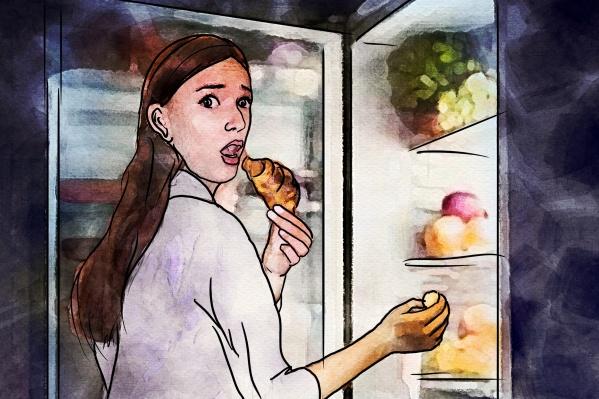 Съесть на ночь яблоко или кусок пиццы — страшные муки выбора (на самом деле можно и то, и то)