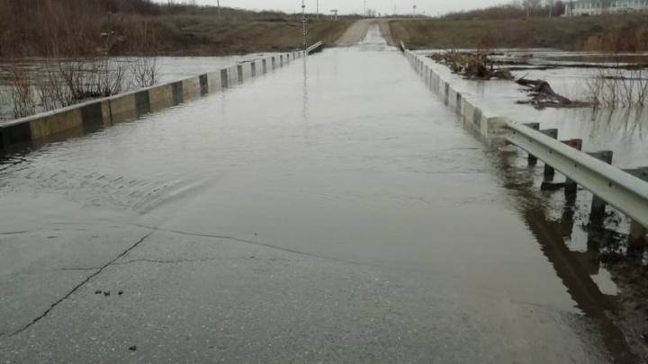 В Самарской области из-за паводка подтопило четыре моста
