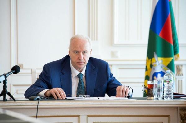 Глава Следственного комитета РФ попросил доложить ему о ходе следствия