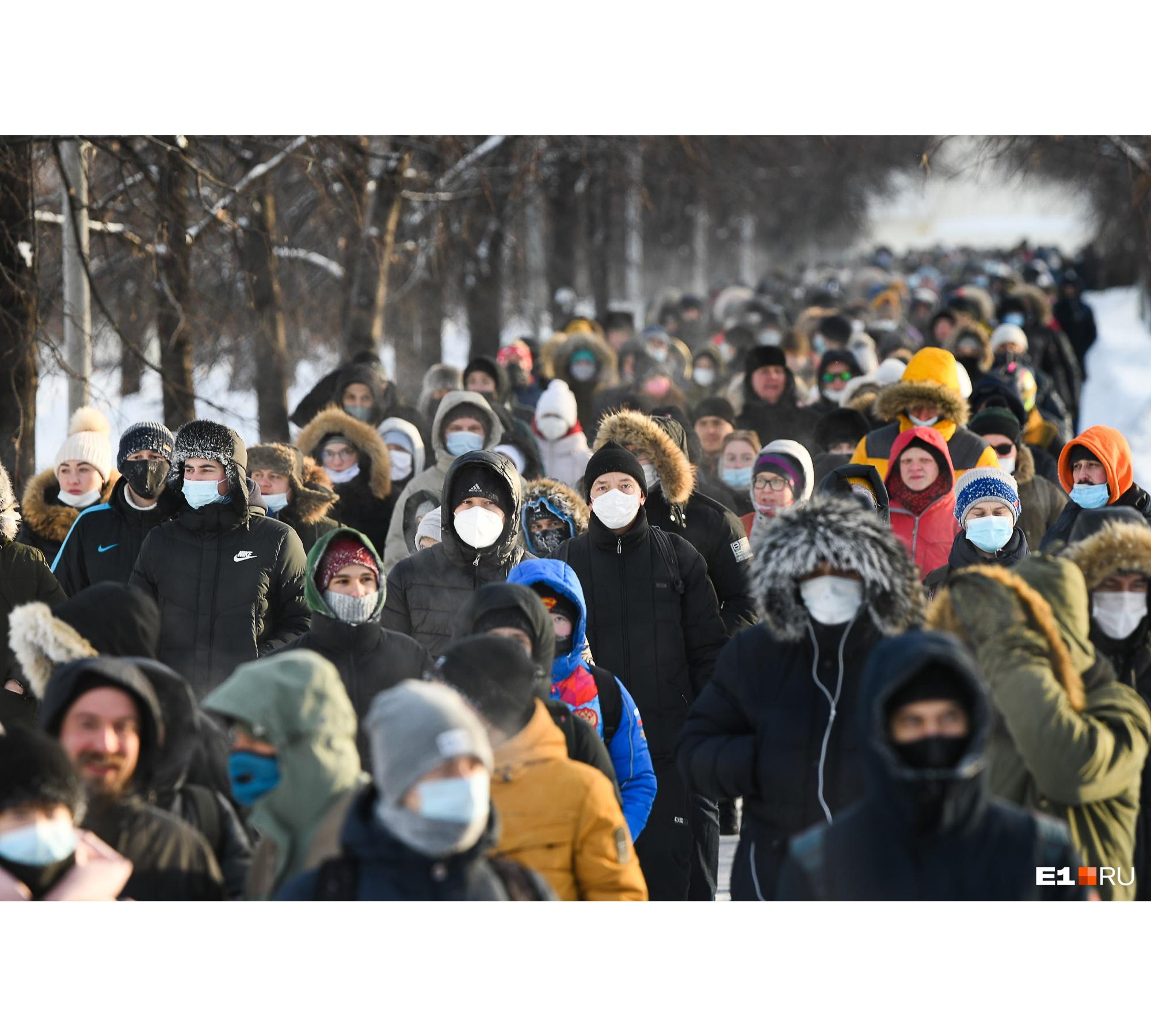 """В полиции говорят, что было <nobr class=""""_"""">3 тысячи</nobr> человек, штаб Навального — <nobr class=""""_"""">10 тысяч</nobr>, а Ройзман — <nobr class=""""_"""">15 тысяч</nobr>&nbsp;"""