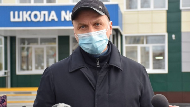 Глава Кургана Андрей Потапов ушел на больничный