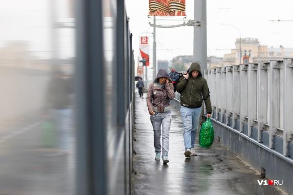 В субботу, 17 апреля, в Волгограде ожидается сильный дождь