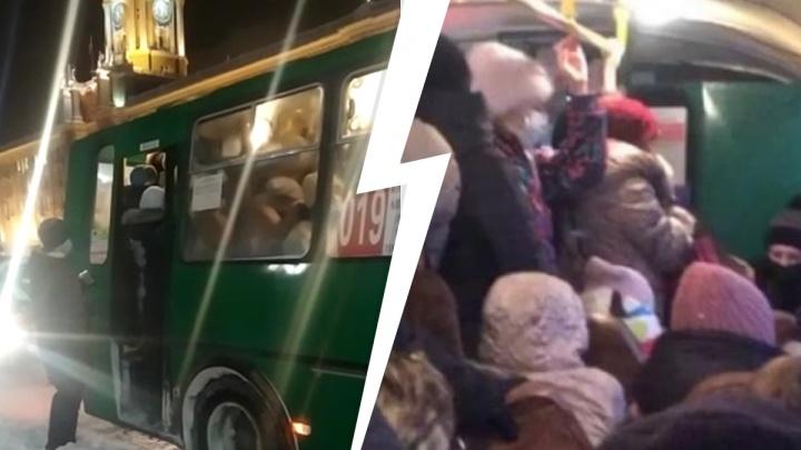 «Людям становится плохо в автобусе»: жительница Академического — о давке в транспорте