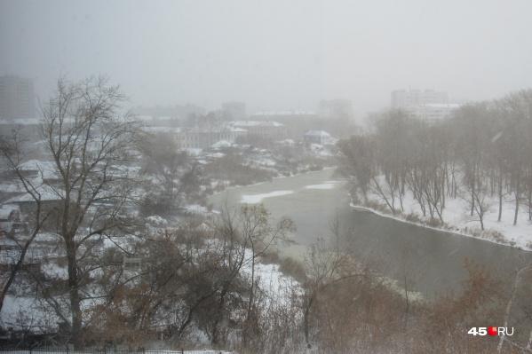 Февраль в Кургане начался с погодных сюрпризов