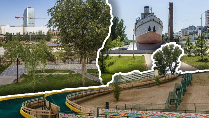 Сначала река, потом свалка, теперь парк: как пойма Царицы в Волгограде стала местом массового отдыха