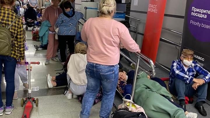Челябинцы застряли в аэропорту Сочи