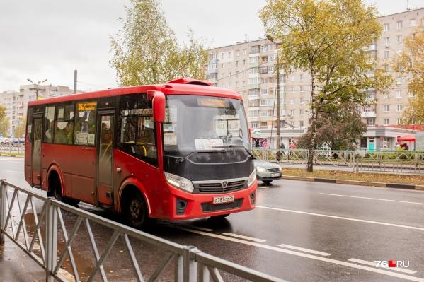 Маршрутки № 35М больше не будет в Ярославле
