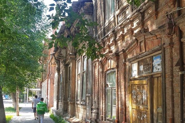 Постройка расположена на улице Садовой, 228