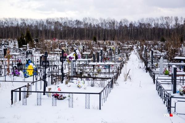 На Осташинском кладбище открыли новый сектор