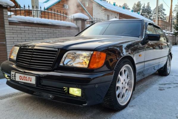 """Восстановленный Mercedes-Benz S-класс в <nobr class=""""_"""">140-м</nobr> кузове"""