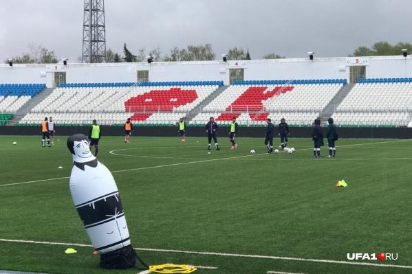 UFA1.RU побывал на тренировке ФК «Уфа» перед матчем с «Зенитом»