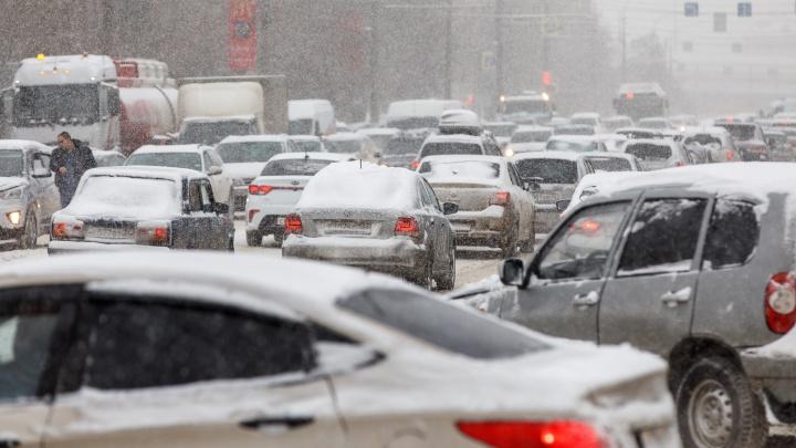 Синоптики признали снегопад в Волгограде аномальным: онлайн-трансляция
