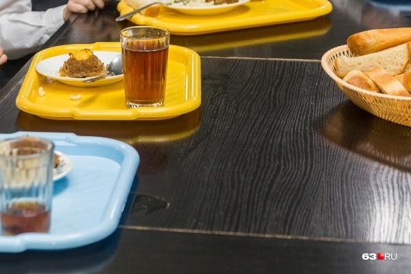 Еду в большинство школ Тольятти поставляло одно и то же предприятие