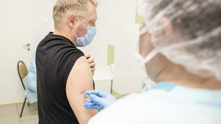 В Ярославской области прививки от коронавируса начали делать в торговых центрах