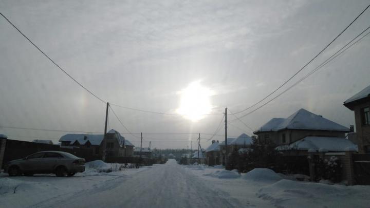Отчего замерзают коттеджные поселки на окраинах Екатеринбурга