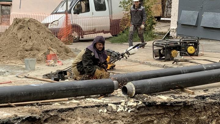 В Самаре перекрыли улицу Победы