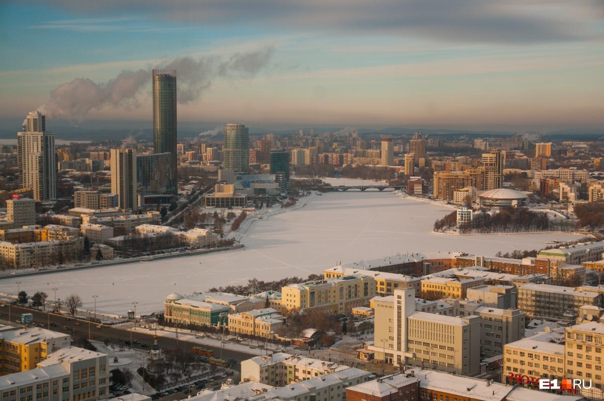 В Екатеринбурге морозы продержатся как минимум до конца недели