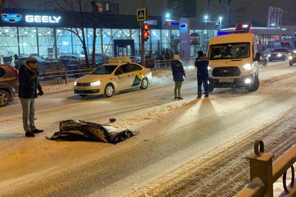 """Авария на Егоршинском подходе произошла <nobr class=""""_"""">27 декабря</nobr> 2020 года"""