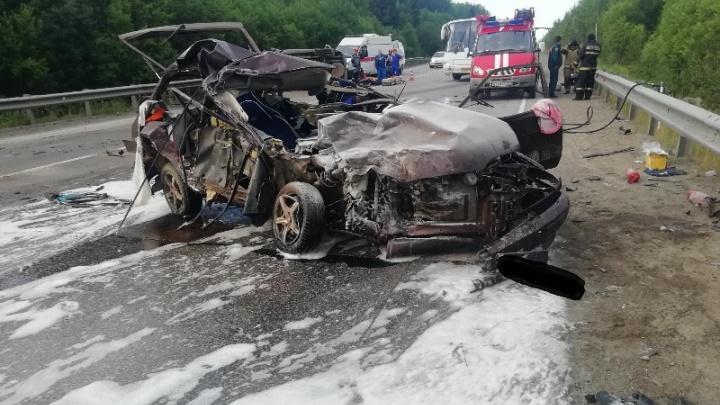 Один человек погиб, двое пострадали. В Прикамье возбудили уголовное дело после смертельного ДТП