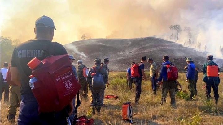 «Идет война, а мы без патронов». Дневник спасателя, который тушил лесные пожары в Башкирии