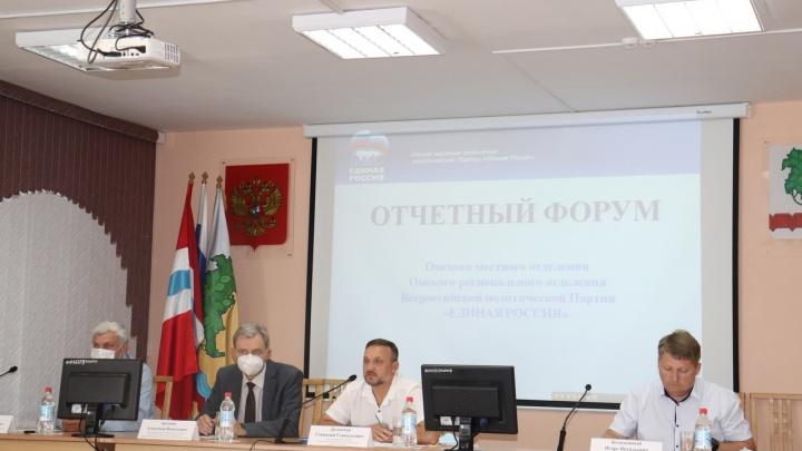 Депутаты Омского района отчитались о проделанной работе в регионе