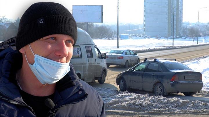 «Это подстава какая-то»: в Волгограде Вторая Продольная магистраль оказалась не главной дорогой